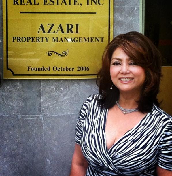 Manzar D. Azari (Evangelatos), MBA Founder/President